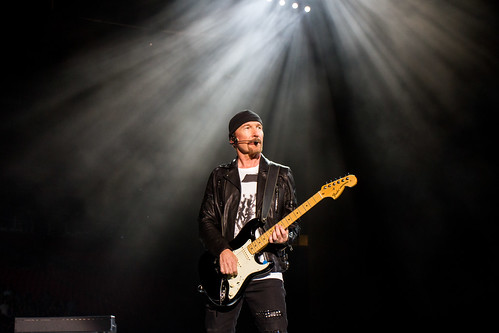 The Edge in 5 Guitars