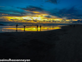 Sunset,Coxsbazar,Bangladesh