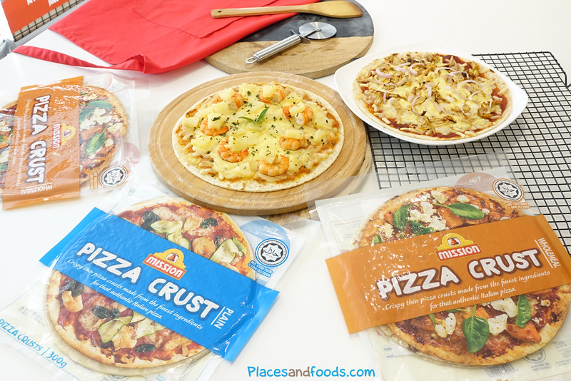 mission foods pizza