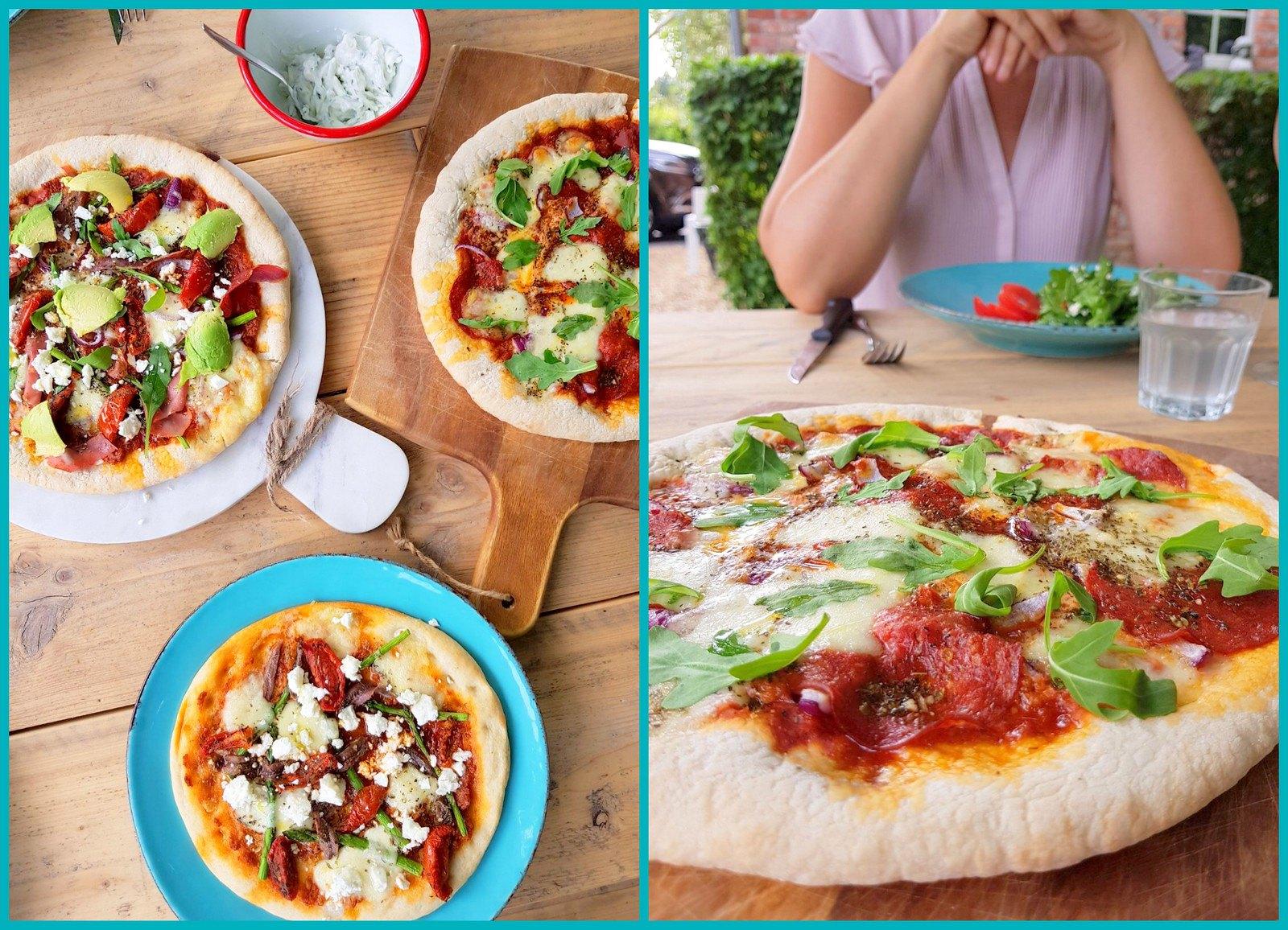 pizza al fresco (collage1)