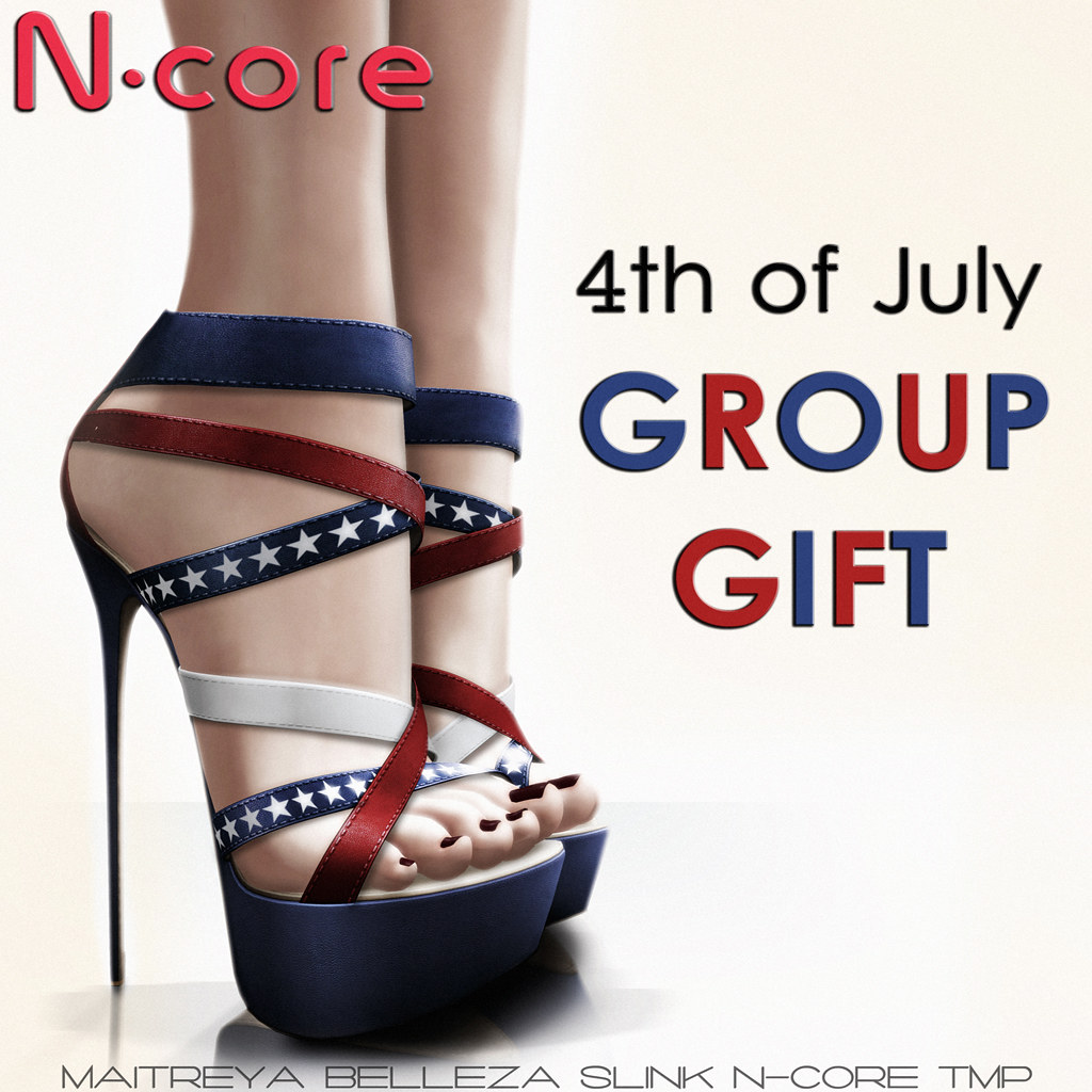 N-core GROUP GIFT 4th of July 2017 - SecondLifeHub.com