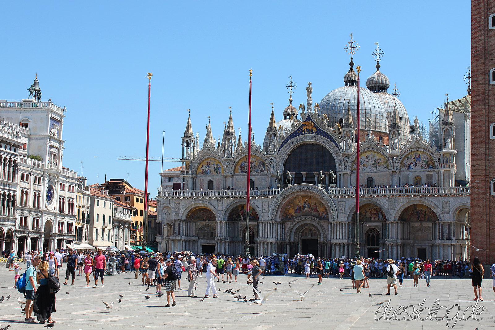 Venice Piazza San Marco travelblog duesiblog 01
