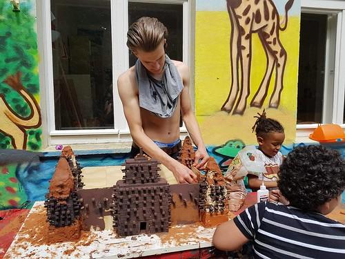 Wir bauen die Moschée von Djenne