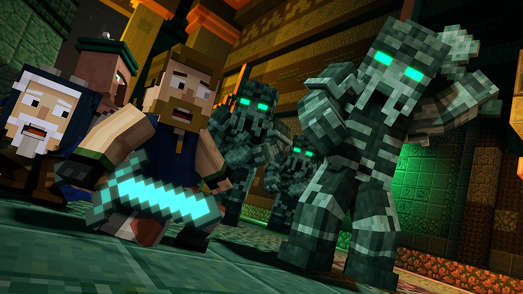 Minecraft Story Mode Season Two Eight Hidden Details In The