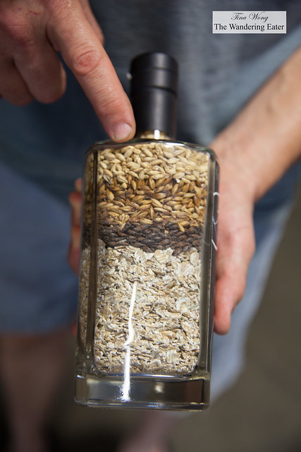 Grains used in their rye