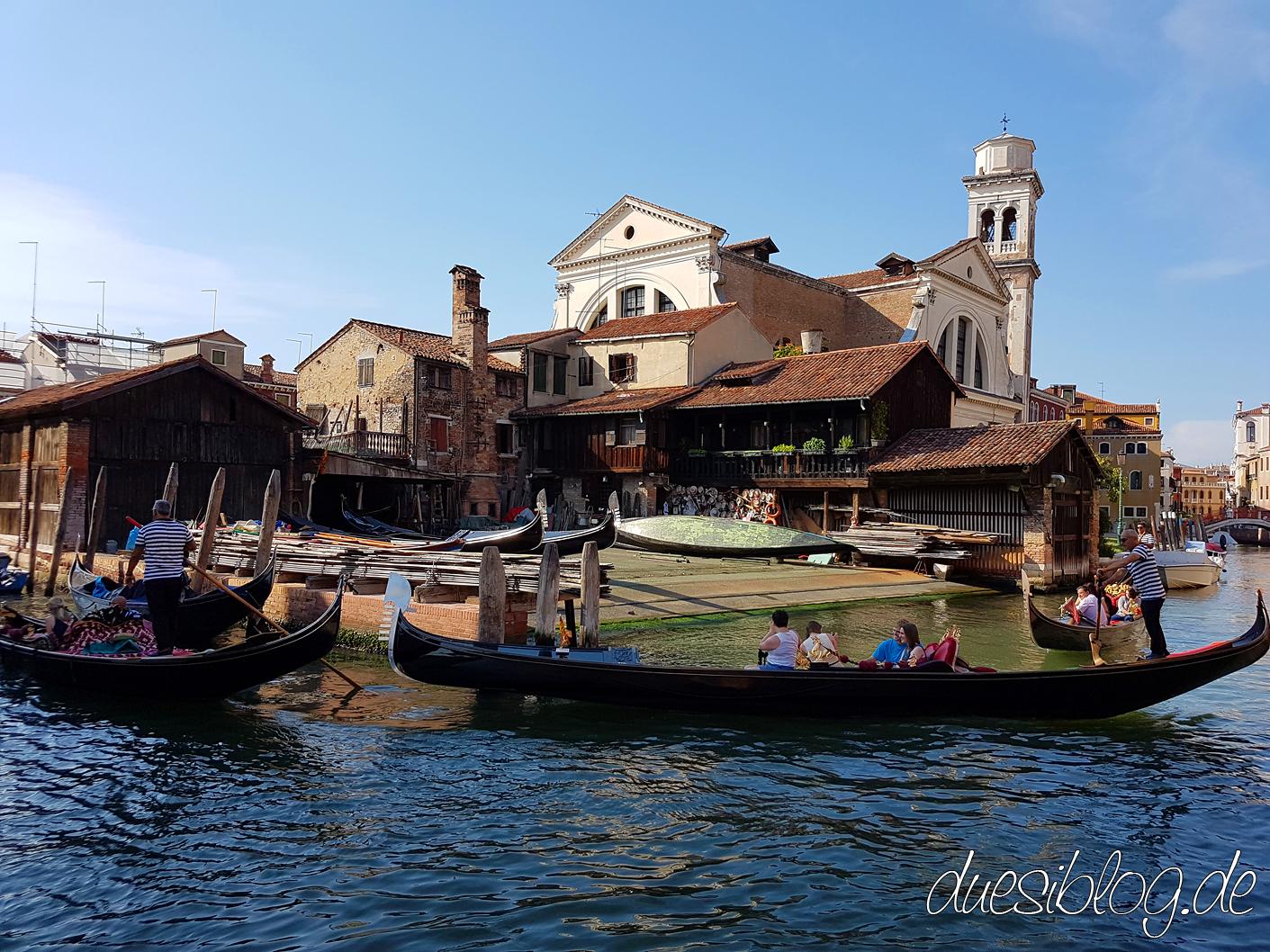 Venice Gondelwerft Squero di San Trovaso travelblog duesiblog 03