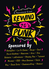 Rewind: 70's Punk coming in August