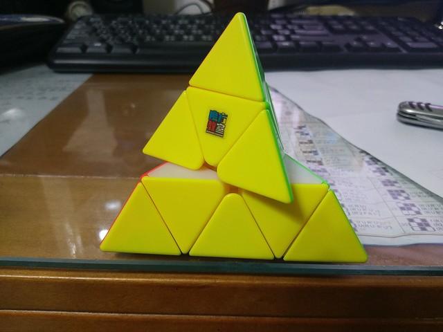 魔方教室 金字塔魔方 逆容錯
