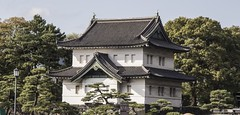 Imperial Palace Japan Gardens during the day