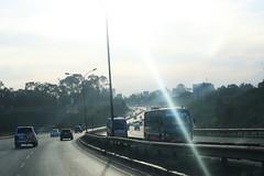 Highway in Kenya