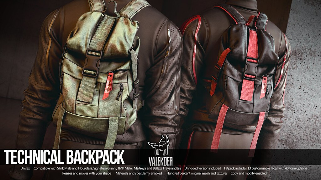 [VALE KOER] TECHNICAL BACKPACK
