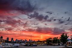 National Yard sunset