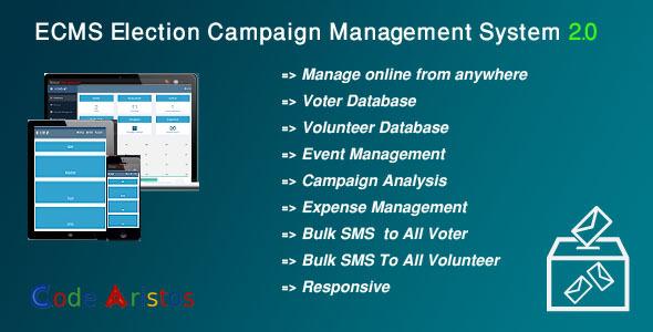 ECMS v2.0 – Election Campaign Management System