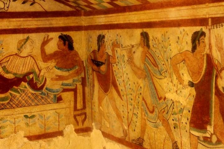 Pinturas de Tarquinia
