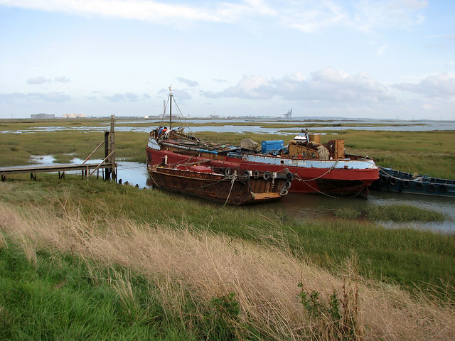 Stoke Saltings on the Isle of Grain