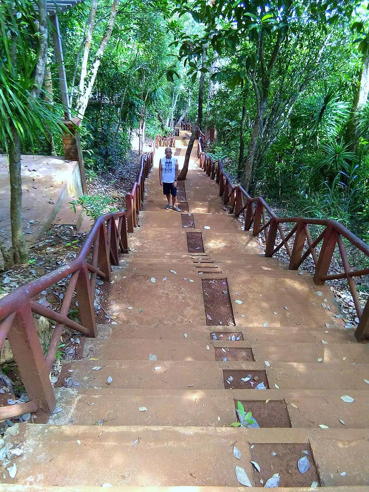 Climbing Ermita Hill