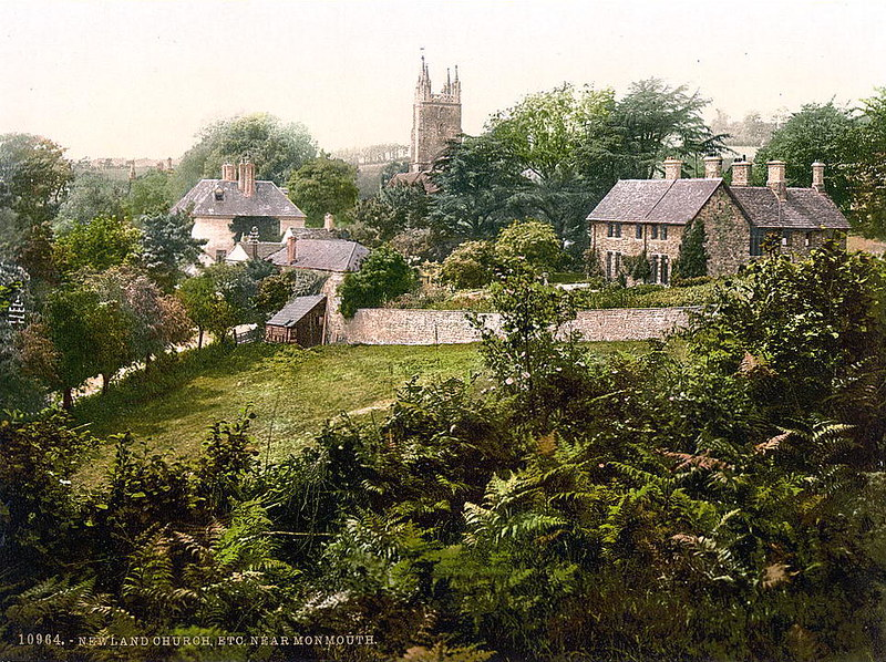 Vicinity of Newland Church, Monmouth