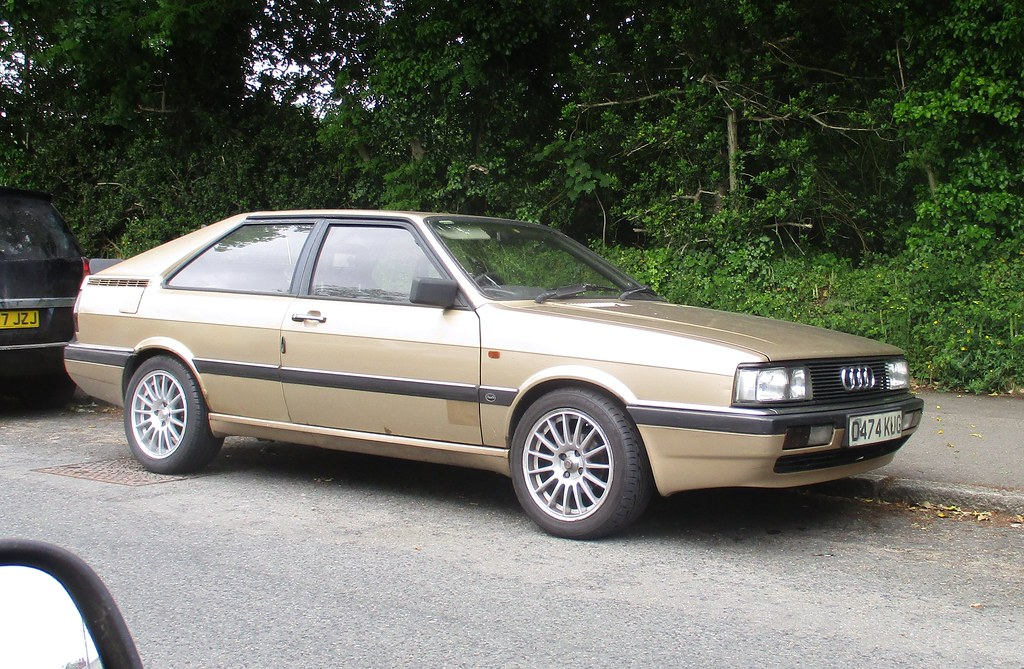 1987 audi 80 gt coupe a creditable 213 000 miles at the. Black Bedroom Furniture Sets. Home Design Ideas