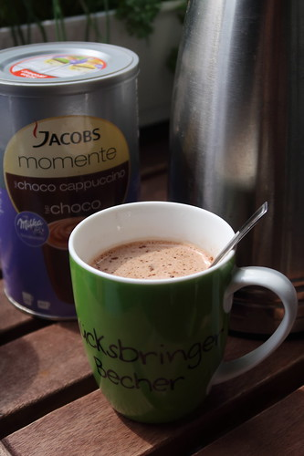 Jacobs Momente Choco Cappuccino bei einer Freundin in Herne