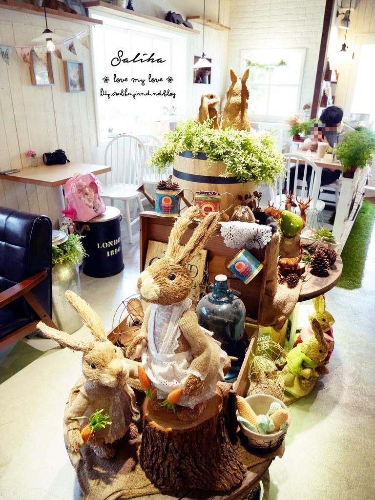 台中市西區可愛咖啡館餐廳下午茶推薦PUGU 田園雜貨 (3)