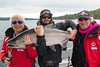 42.5-pound Chinook salmon, caught and released off Cohoe Point