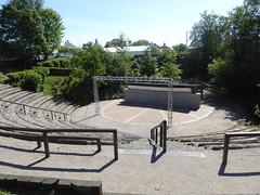 Lez-Fontaine circuit du Verre.- le théâtre de verdure