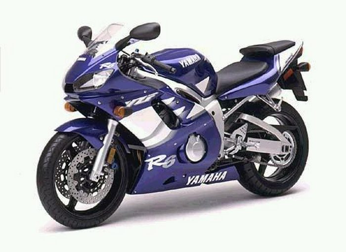 Yamaha YZF-R6 600 2002 - 8