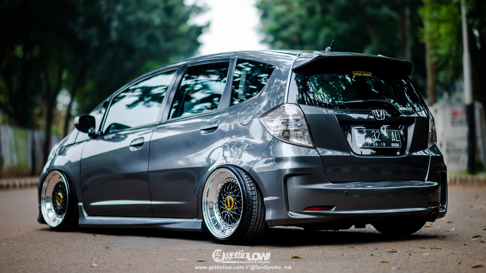 Rahin Chandra 2013 Bagged Honda Jazz