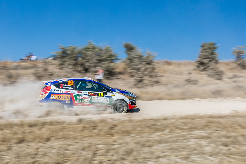 19 OZDEMIR Umitcan (tur) and MEMISYAZICI Batuhnan (tur) CASTROL FORD TEAM TÜRKIYE FORD FIESTA R2 action during the 2017 European Rally Championship ERC Cyprus Rally,  from june 16 to 18  at Nicosie, Cyprus - Photo Thomas Fenetre / DPPI