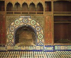 A royal fireplace