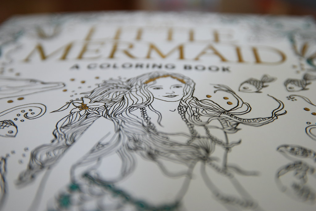 The Little Mermaid: A Coloring Book #SPONSORED #REVIEW