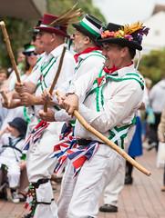 Uplyme Morris - Wimborne Minster Folk Festival 2017