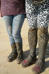 """2 Pairs of """"Mud boots"""""""