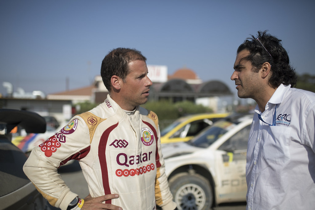BAUMEL Matthieu (fra) NASSER AL-ATTIYAH FORD FIESTA R5 ambiance portrait during the 2017 European Rally Championship ERC Cyprus Rally,  from june 16 to 18  at Nicosie, Cyprus - Photo Gregory Lenormand / DPPI