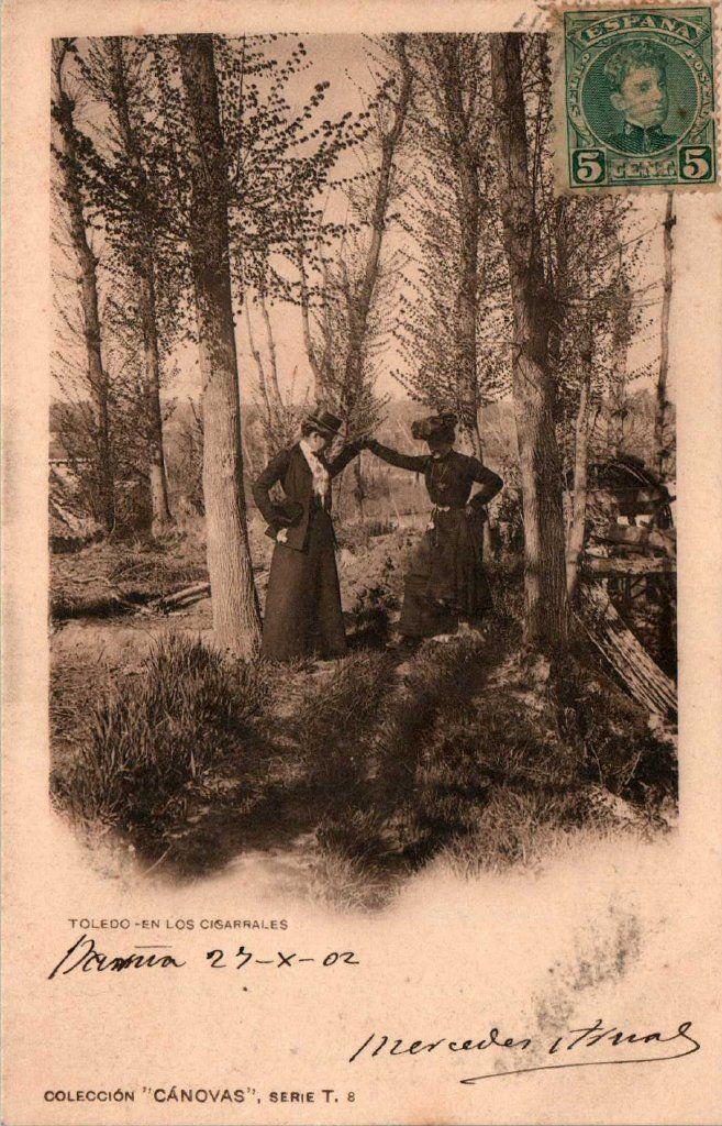 En los cigarrales, foto hacia 1900. Fotografía de Antonio Cánovas del Castillo, Dalton Kaulak.