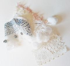 embroidered scraps