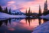 Chinook Pass Sunset 2017