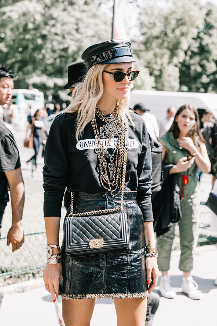 street style fashion week paris dior chanel outfits fashion trend accessories9