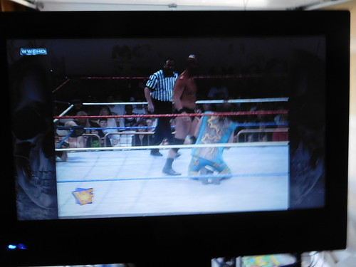 Wrestling on TV