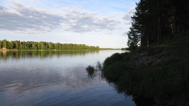 Ilta Oulujoella, Canon IXUS 285 HS
