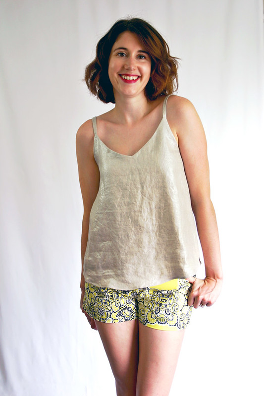 Summer of Basics – Ogden Cami Edition + Maritime Shorts