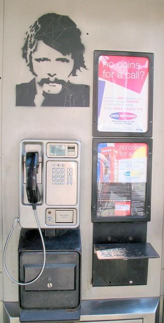 Banksy call box Devizes, Canon POWERSHOT G7