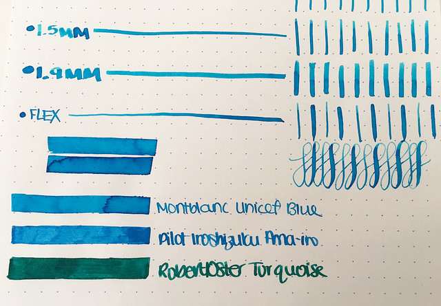 Ink Shot Review Montblanc for Unicef Ink @AppelboomLaren @Montblanc_World 6