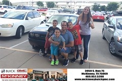 #HappyBirthday to Pedro from Brett Stein at McKinney Buick GMC!