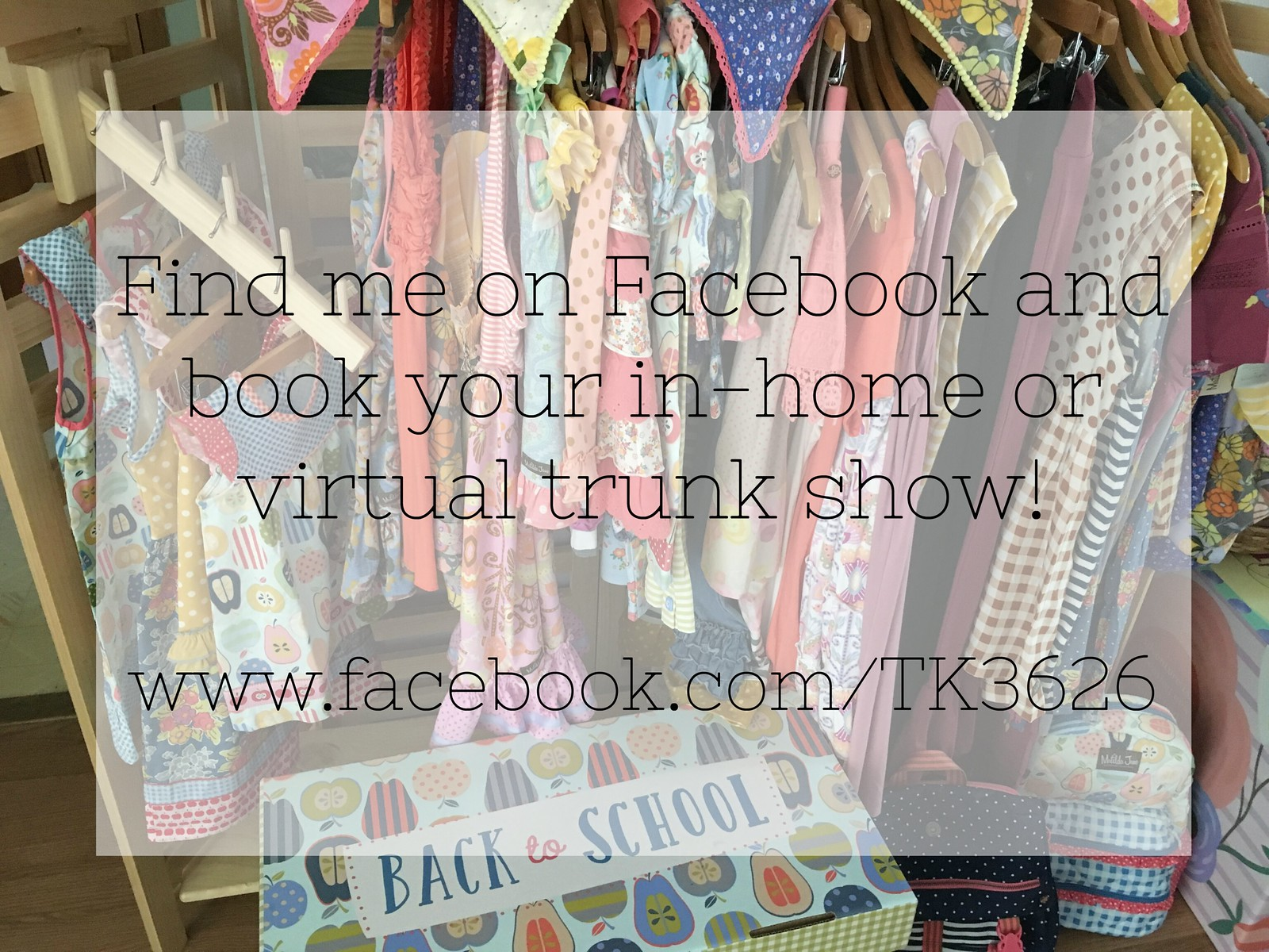 Follow along on my trunk keeper page!