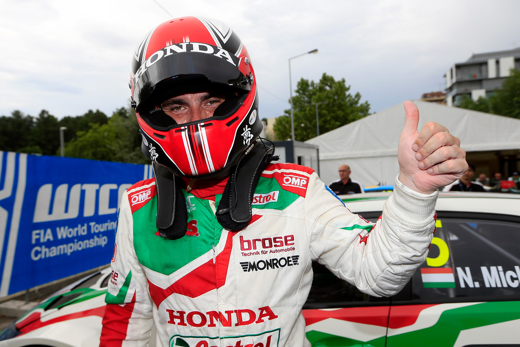 MICHELISZ Norbert (hun) Honda Civic team Castrol Honda WTC ambiance portrait during the 2017 FIA WTCC World Touring Car Championship race of Portugal, Vila Real from june 23 to 25 - Photo Paulo Maria / DPPI