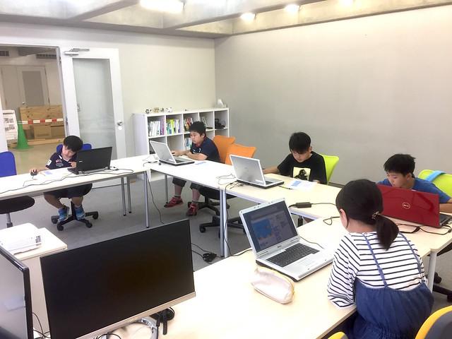 夏期プログラミング体験教室