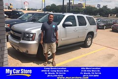 Congratulations Adrian on your #Chevrolet #Tahoe from Cody Nelson at My Car Store!