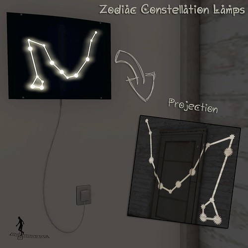 Zodiac Constellation Lamps