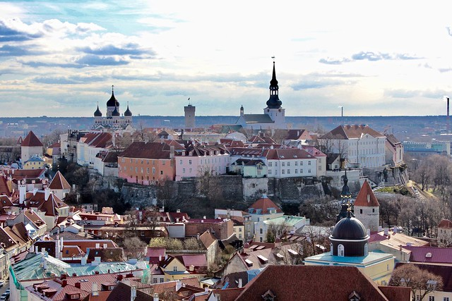 Tallinn from Olafs Church